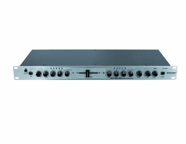 Omnitronic EM-180, dvoukanálový mixážní pult USB