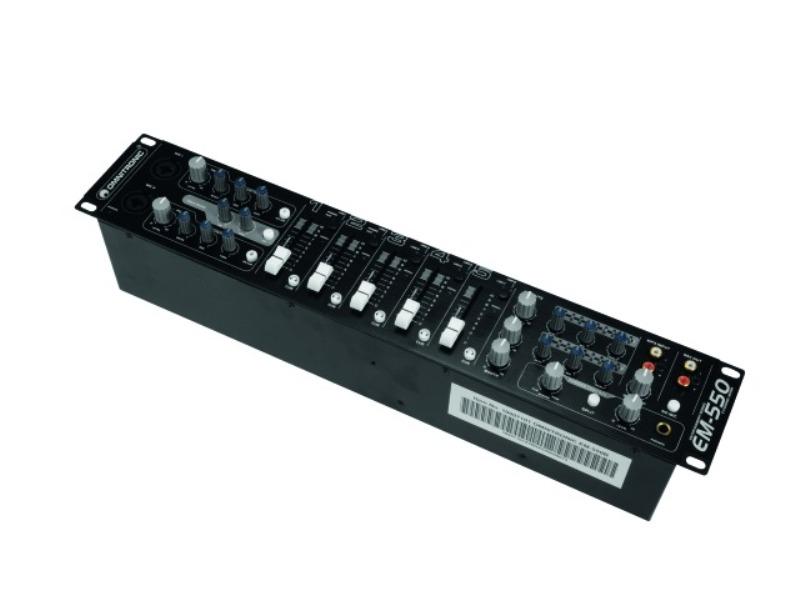 Omnitronic EM-550B, 5-kanálový mixážní pult