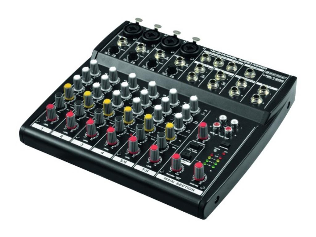 Omnitronic LRS-1202, 6-kanálový nahrávací pult