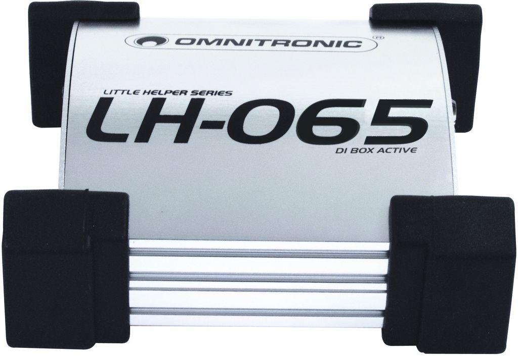 Omnitronic LH-065, aktivní DI-box