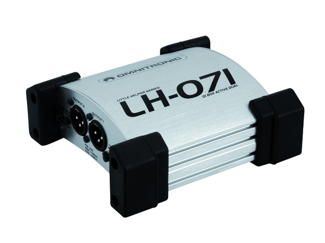 Omnitronic LH-071 Active dual DI box TRS