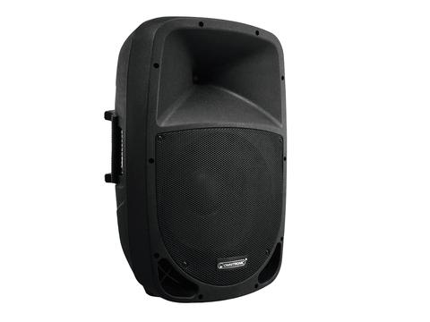 "Fotografie Omnitronic VFM-215AP 2 pásmový reprobox 15"", aktivní, MP3, Bluetoo"