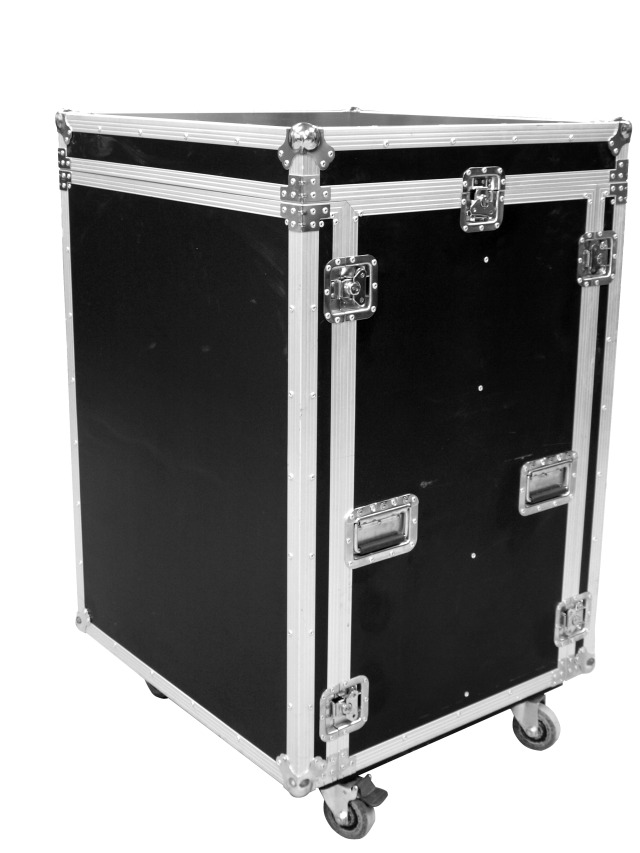 Fotografie Transportní case 8x CLA-228 s kolečky
