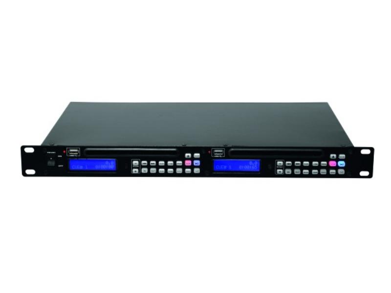 Omnitronic DMP-202 dual USB CD přehrávač
