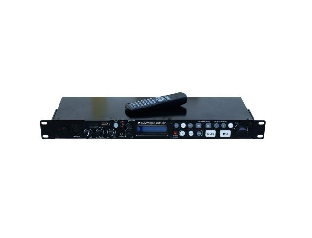 Fotografie Omnitronic DMP-102 USB/SD přehrávač