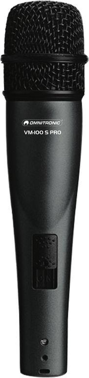 Omnitronic VM-100 S PRO, dynamický mikrofon