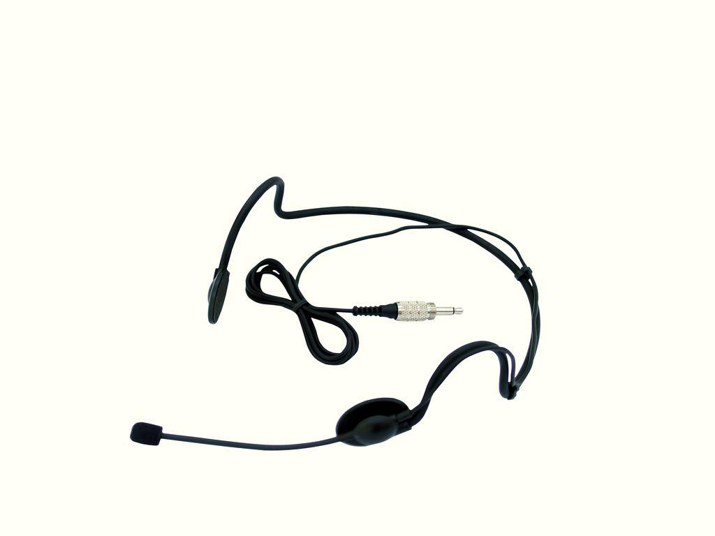 Omnitronic HS-105, hlavový mikrofon mini XLR