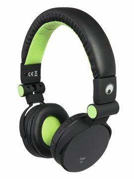 Fotografie Omnitronic SHP-i3 Stereo sluchátka, zelená