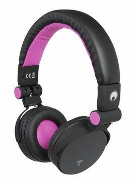 Fotografie Omnitronic SHP-i3 Stereo sluchátka, růžová