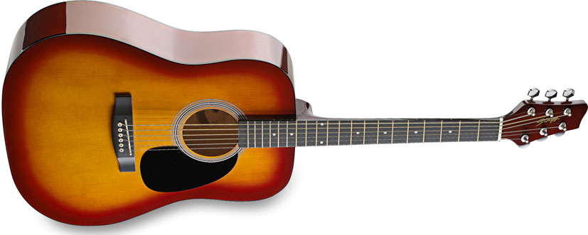 Image of Akustická kytara - Stagg SW201CS