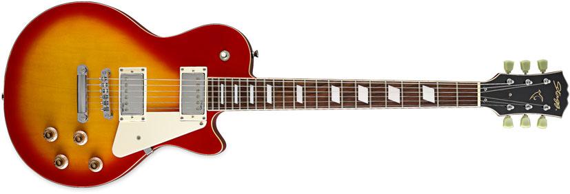 Stagg L320-CS, elektrická kytara