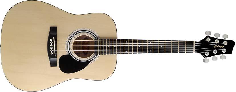Dětská akustická kytara - Stagg SW201 1/2 N