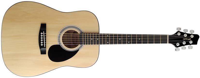 Dětská akustická kytara - Stagg SW201 3/4 N
