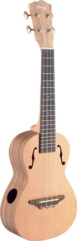 Stagg UTX-ZEB-S, tenorové ukulele