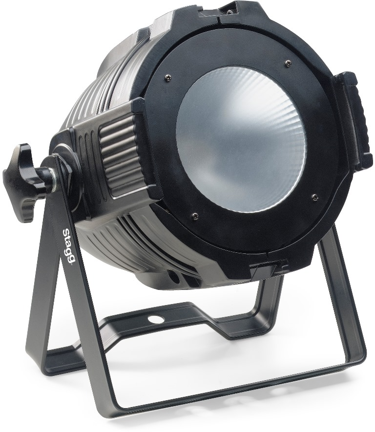 Stagg LED PAR ML-1x60W COB RGB DMX černý, LED reflektor
