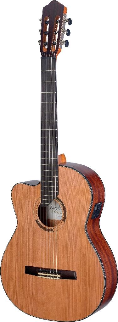 Fotografie Angel Lopez ERE-CFI S LH, elektroakustická kytara
