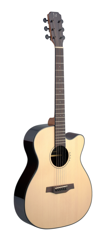 Fotografie James Neligan LYN-ACFI, elektroakustická kytara