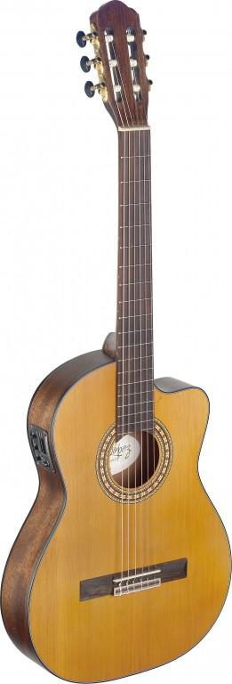 Fotografie Angel Lopez SIL-TCE M, klasická elektroakustická kytara