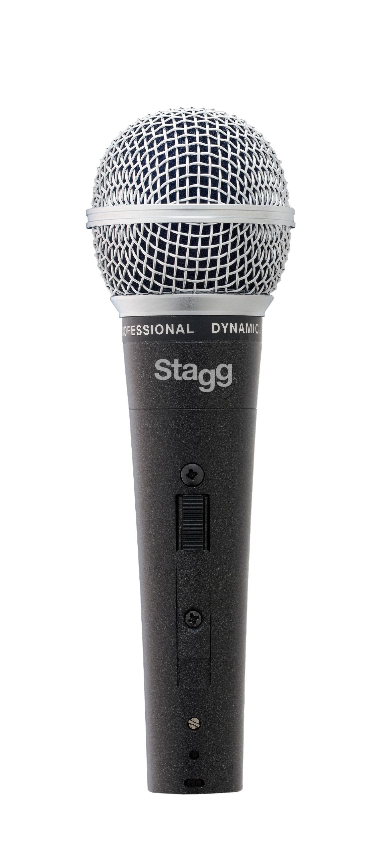 Stagg SDM50-3, sada dynamických mikrofonů