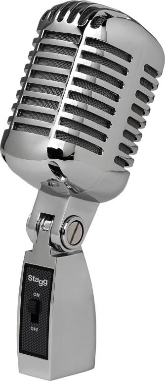 Fotografie Stagg SDM100 CR, dynamický vintage mikrofon