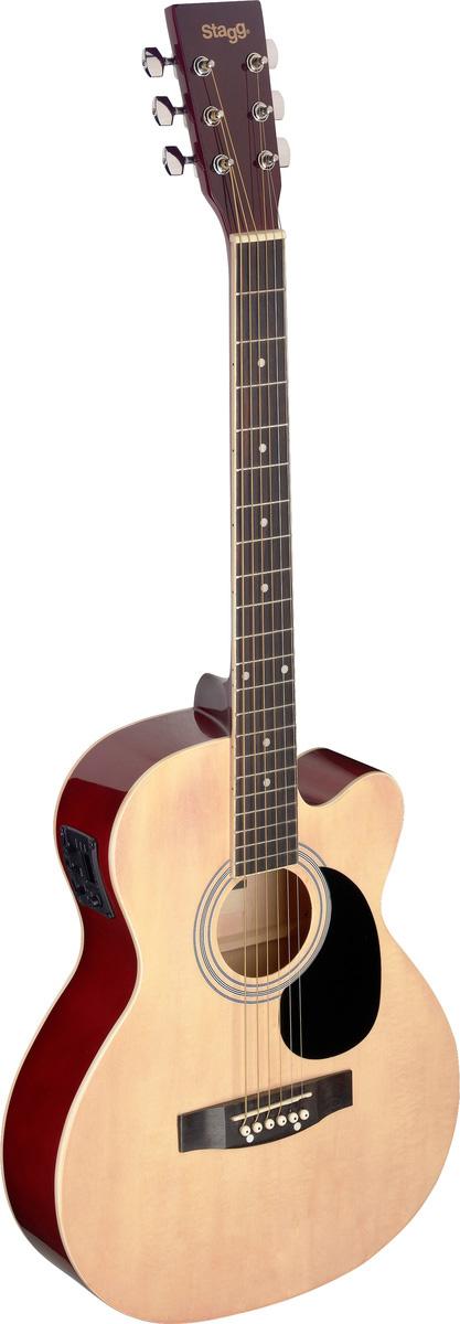 Fotografie Stagg SA20ACE-NAT, elektroakustická kytara