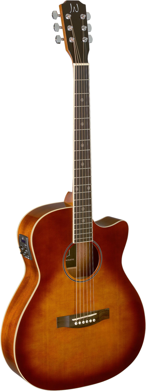 Fotografie James Neligan BES-ACE DCB Elektroakustická kytara