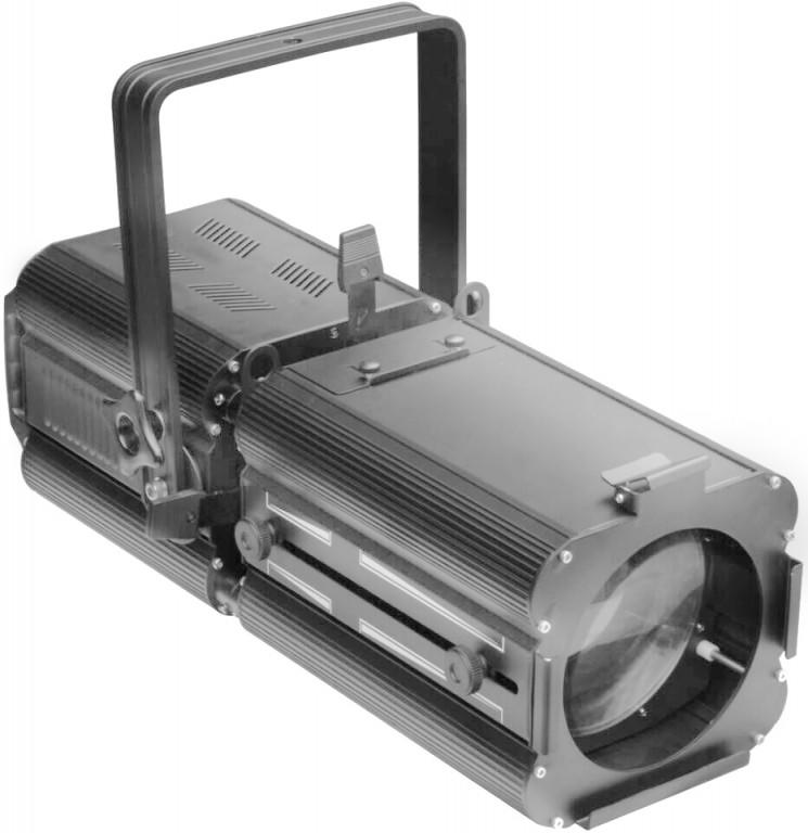 Fotografie Stagg LED jevištní reflektor, 1x200W COB 6500K DMX černý