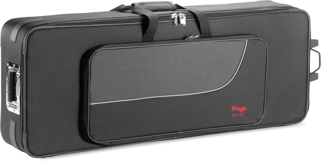 Stagg KTC-117, klávesový kufr na kolečkách