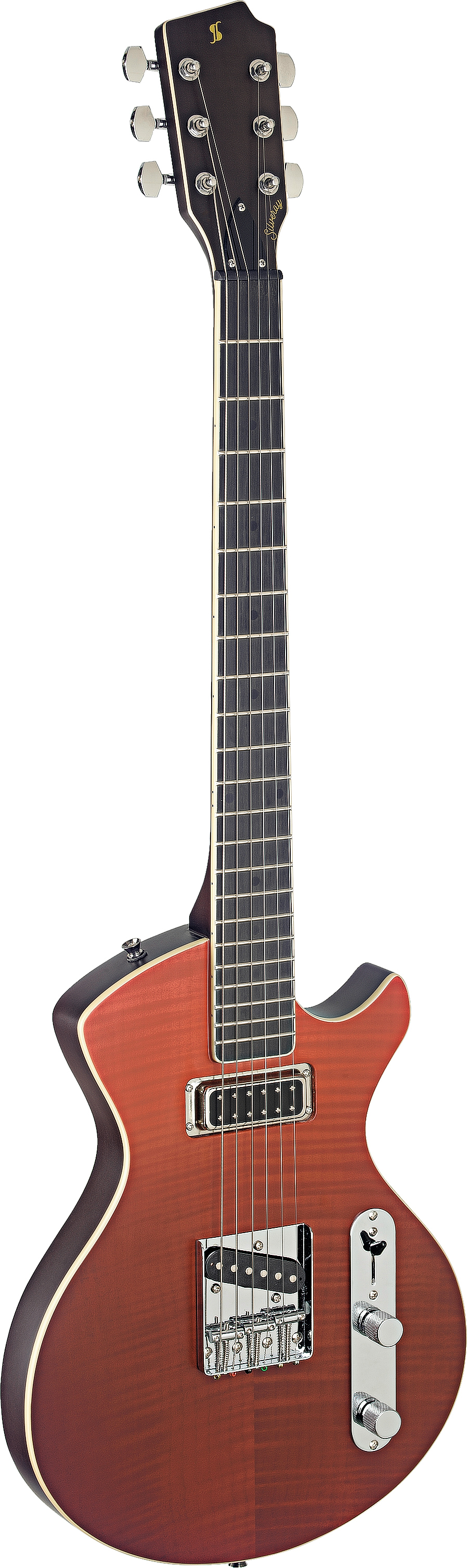 Stagg SVYCSTDLX FRED, SILVERAY CUSTOM DELUXE, elektrická kytara