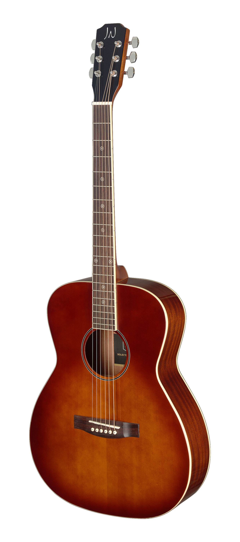 Fotografie James Neligan BES-A DCB LH, akustická kytara, levoruká