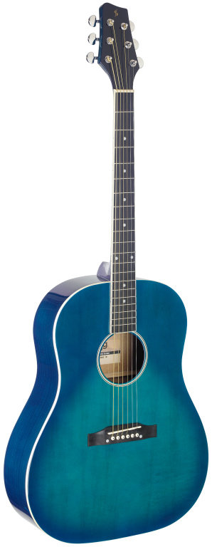 Fotografie Stagg SA35 DS-TB, akustická kytara, modrá