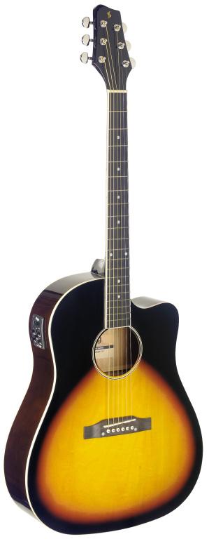 Fotografie Stagg SA35 DSCE-VS, elektroakustická kytara