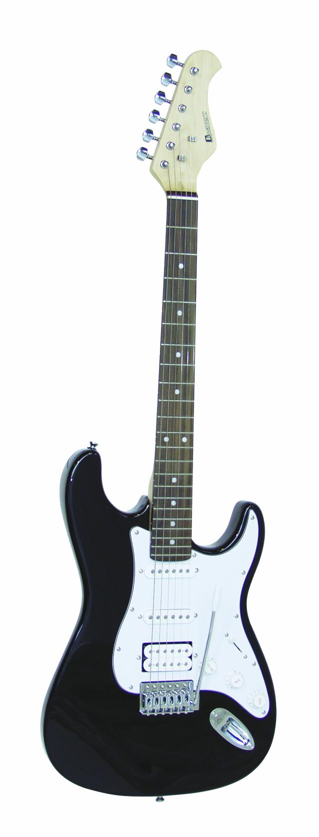 Fotografie Dimavery ST-312 elektrická kytara, černý
