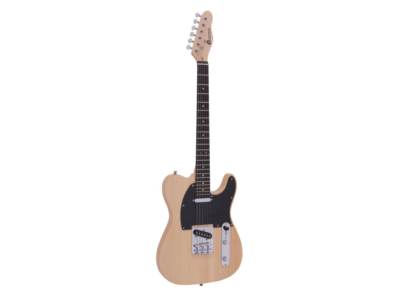 Dimavery TL-401, elektrická kytara, přírodní