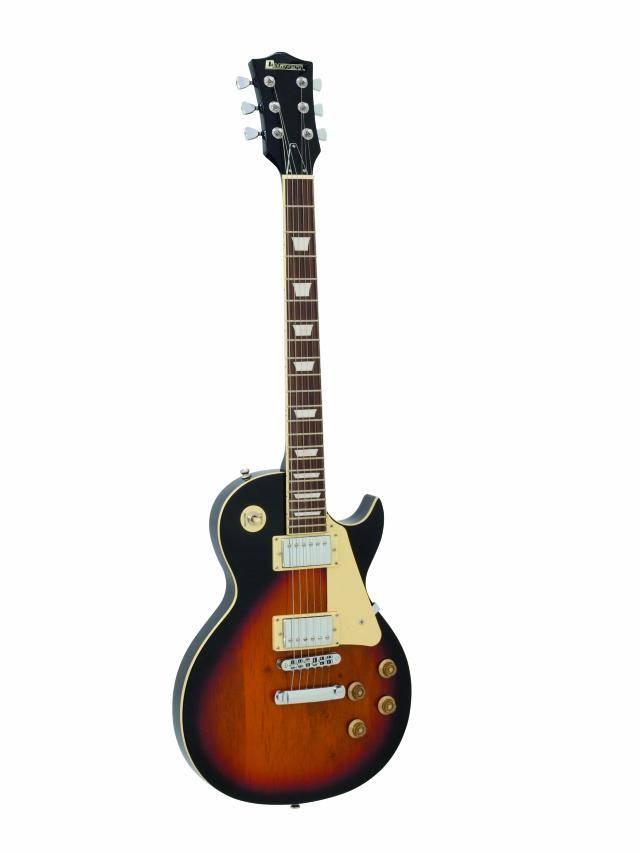 Dimavery LP-520 elektrická kytara, sunburst