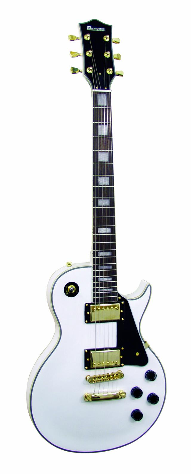 Fotografie Dimavery LP-520 elektrická kytara, bílá
