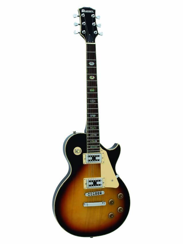 Fotografie Dimavery LP-700 elektrická kytara, sunburst