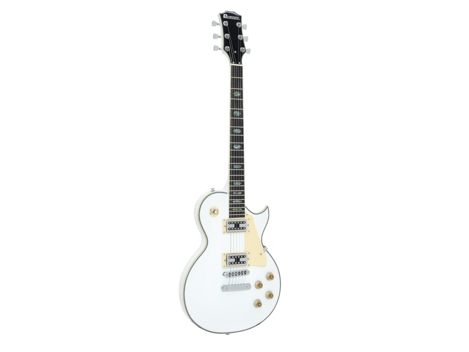 Fotografie Dimavery LP-700 elektrická kytara, bílá