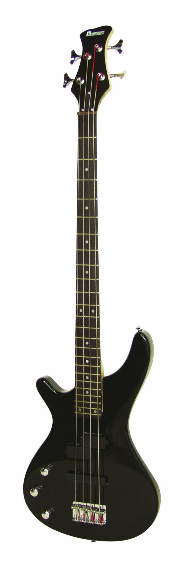 Fotografie Dimavery SB-321 elektrická baskytara pro leváky, černá