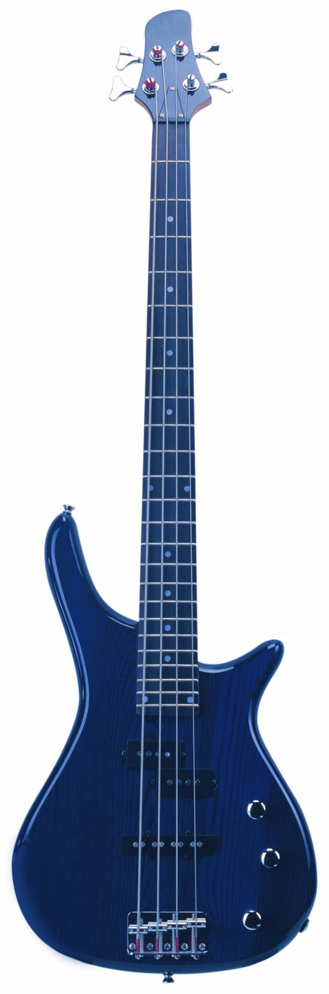 Fotografie Dimavery SB-321 elektrická baskytara, modrá