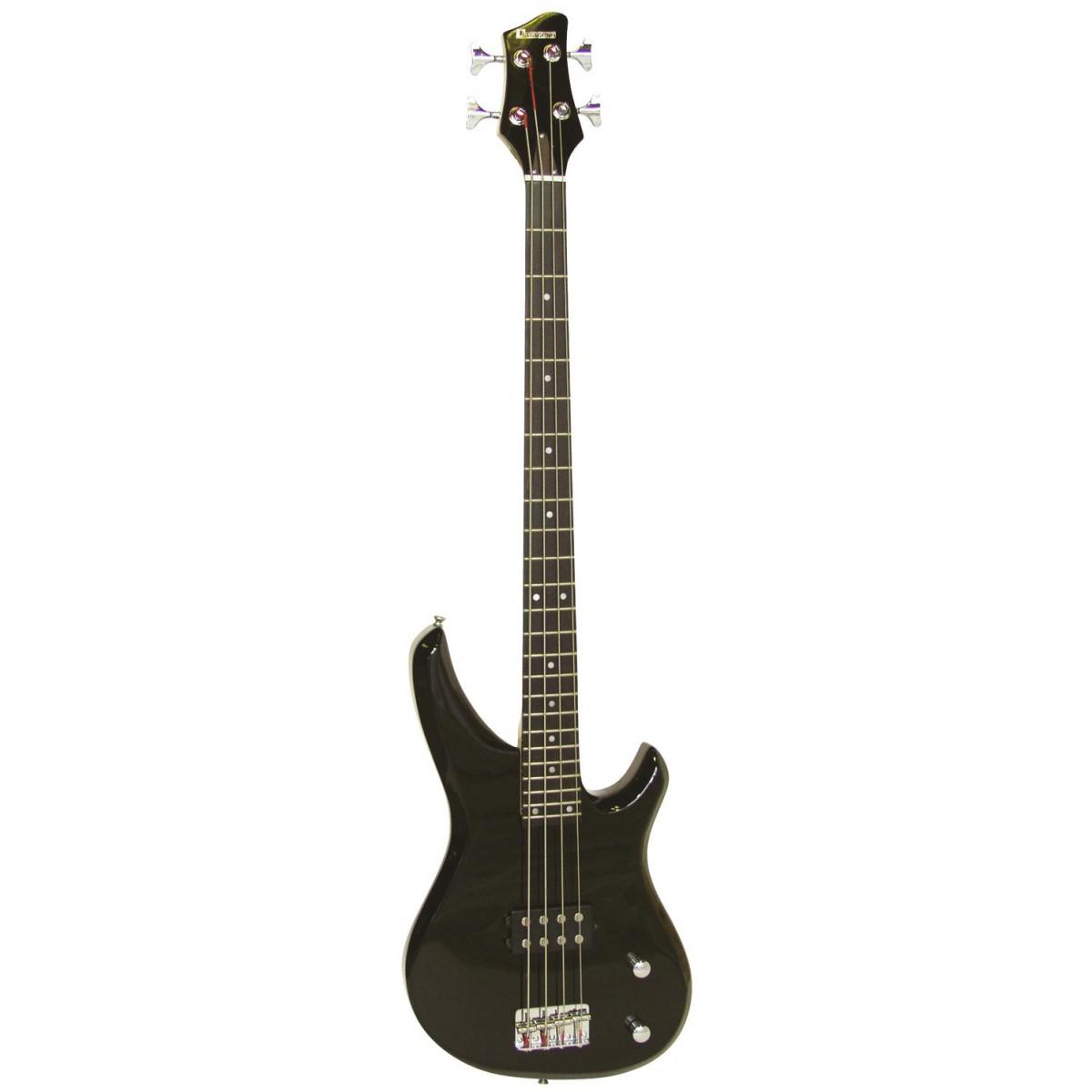 Dimavery SB-201 basová kytara, černý