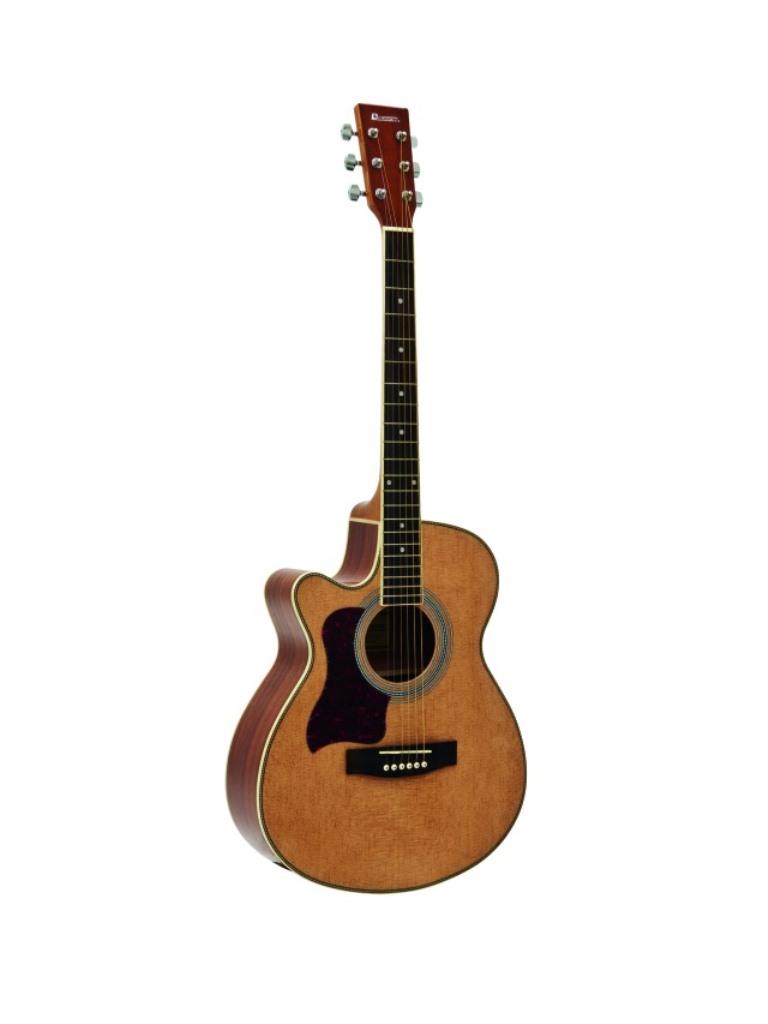 Dimavery JK-303L Cutaway kytara, přírodní