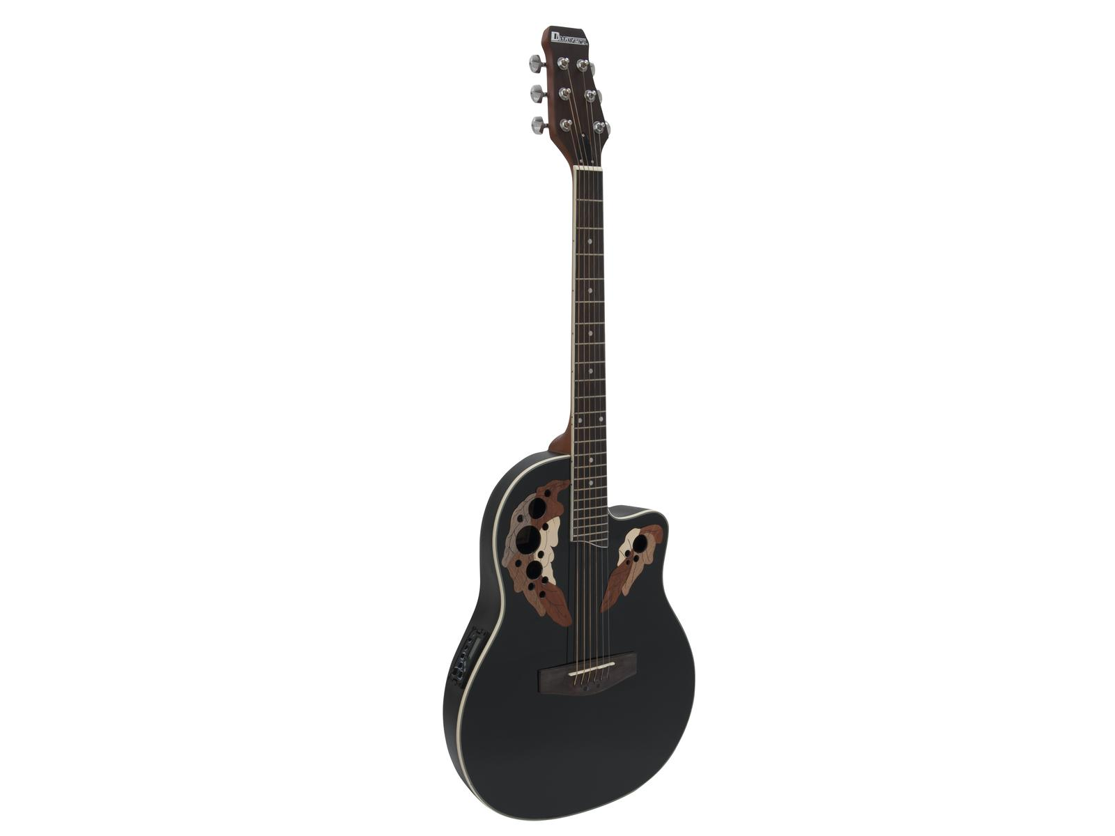 Fotografie Dimavery OV-500 elektro-akustická kytara Ovation, černá