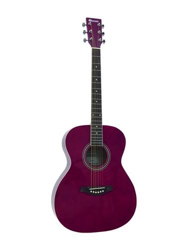 Dimavery AW-303 westernová kytara, červená