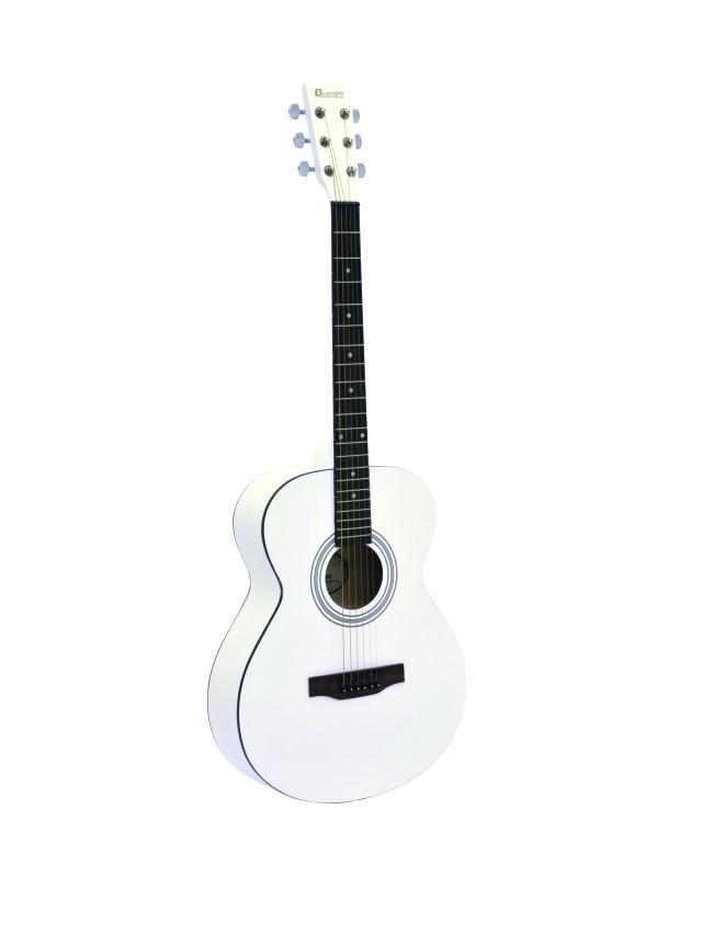 Fotografie Dimavery AW-303 westernová kytara, bílá