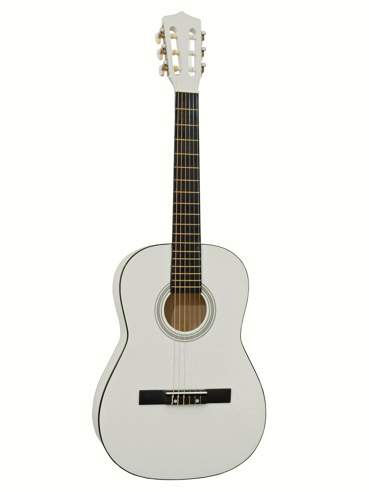 Fotografie Dimavery AC-300 klasická kytara 3/4, bílá