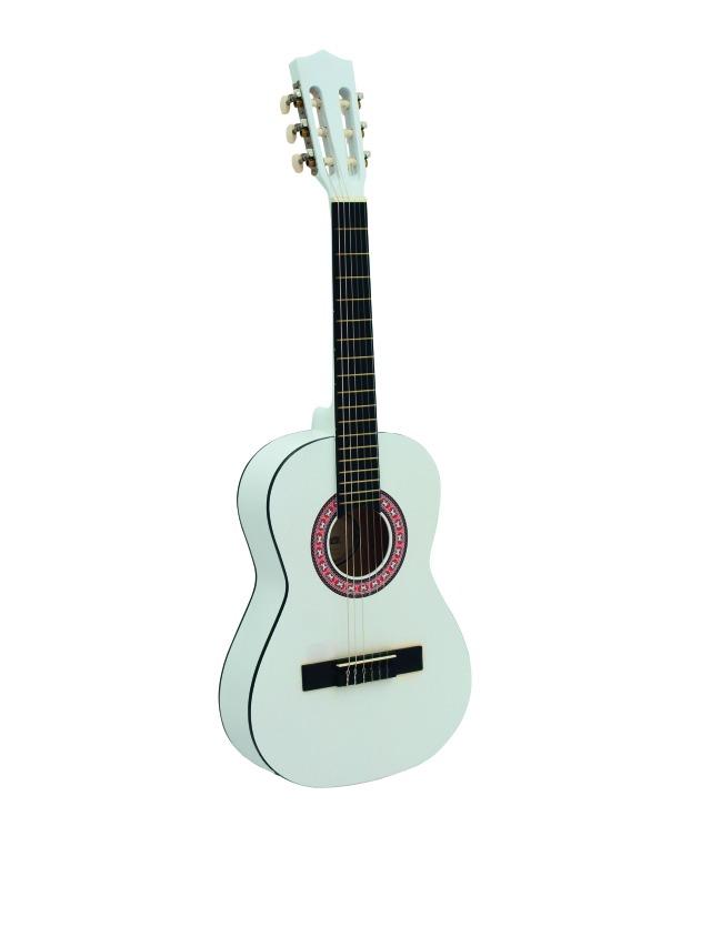Fotografie Dimavery AC-300 klasická kytara 1/2, bílá