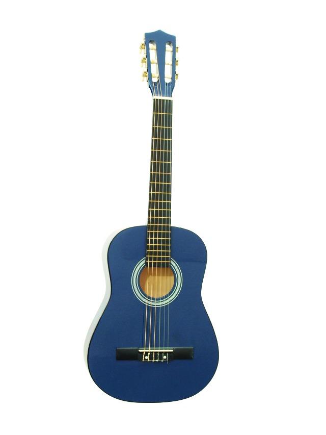 Fotografie Dimavery AC-300 klasická kytara 1/2, modrá