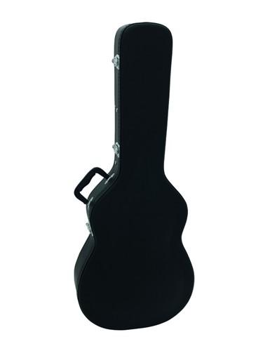 Dimavery tvarovaný kufr pro klasickou kytaru, černý