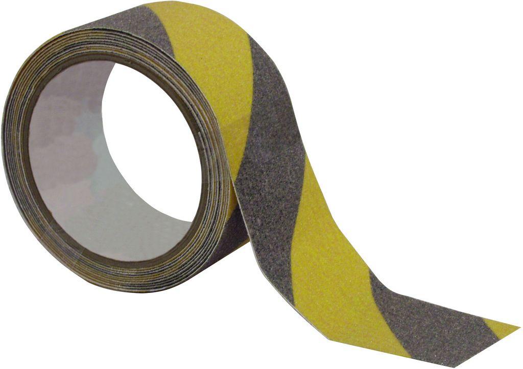 Gaffa páska standard černo-žlutá, 50mm x 50m